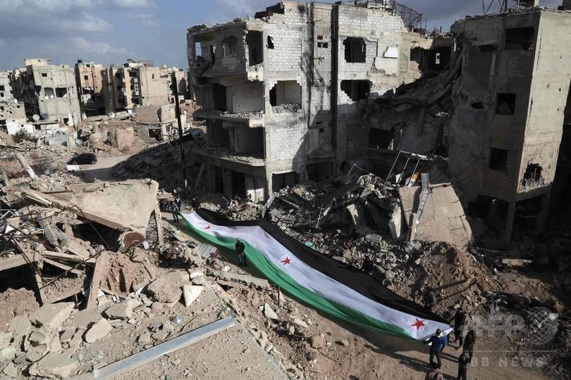 シリア停戦で「目に見える」前進 民間人死者が大幅減