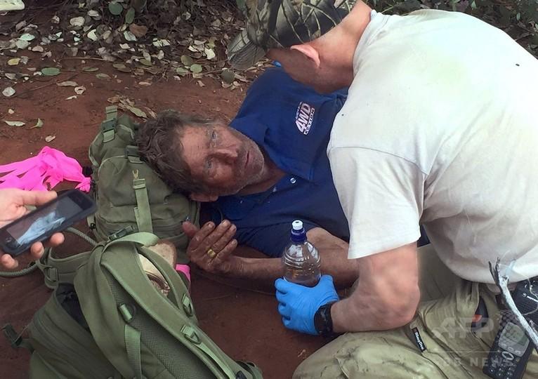豪砂漠で6日ぶりに男性発見、アリ食べ飢えしのぐ