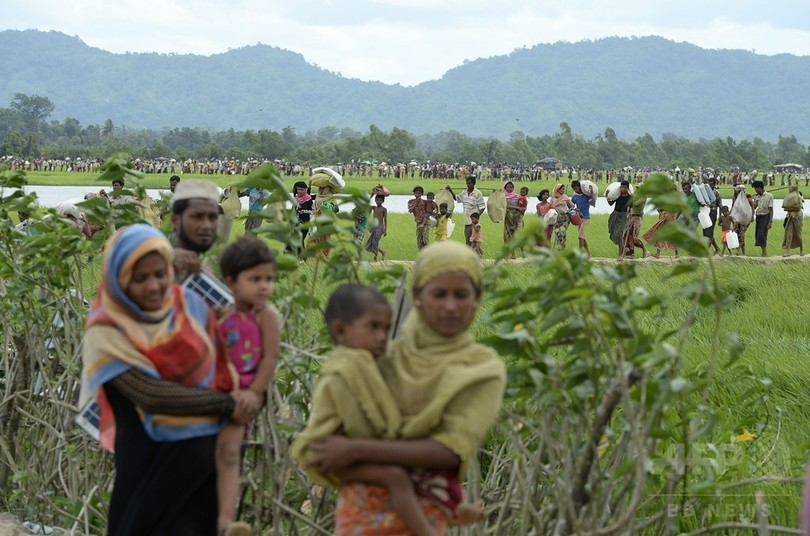 米、ミャンマーへの軍事支援縮小 ロヒンギャ迫害で個人の制裁も