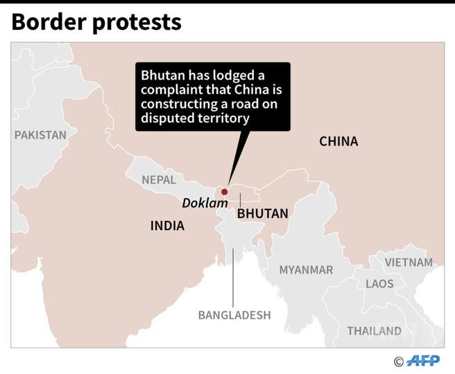 ヒマラヤの小国ブータン、領土問題で中国に抗議
