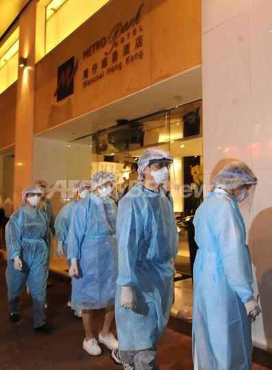 香港で新型インフル感染を確認、旅行のメキシコ人男性 ホテルを7日間封鎖