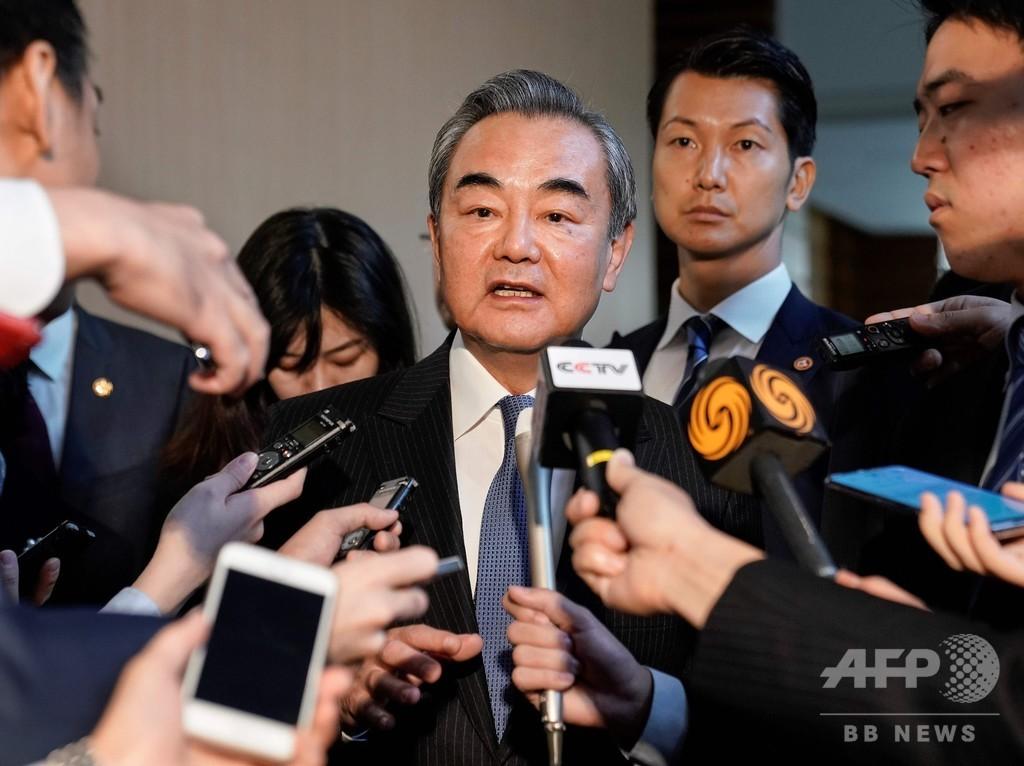 「何が起ころうと香港は中国の一部」 区議選結果に中国外相