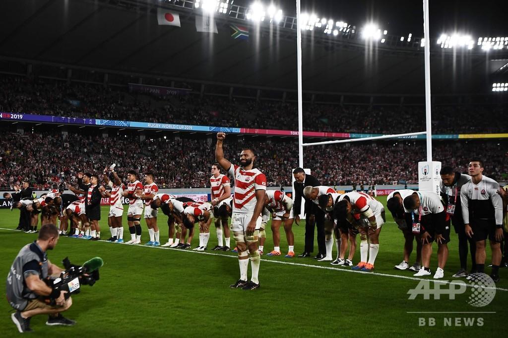 ジョセフHC、W杯準々決勝敗退も「日本は良い位置にいる」