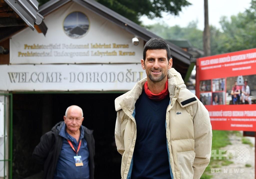 ジョコビッチ、世界1位維持へ今季はあと2大会に出場