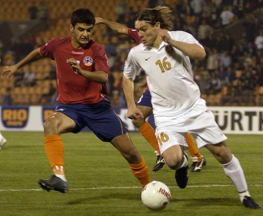 <サッカー 欧州選手権2008・予選>アルメニアvsセルビアはスコアレスドロー