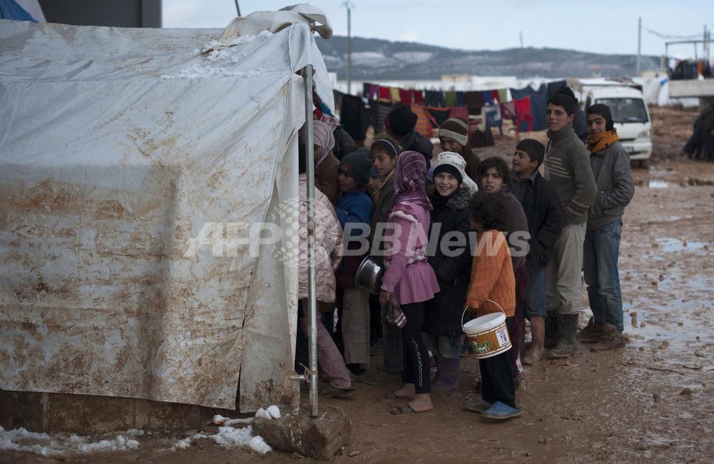 シリア難民、国外脱出の主要因は「レイプ」 報告書