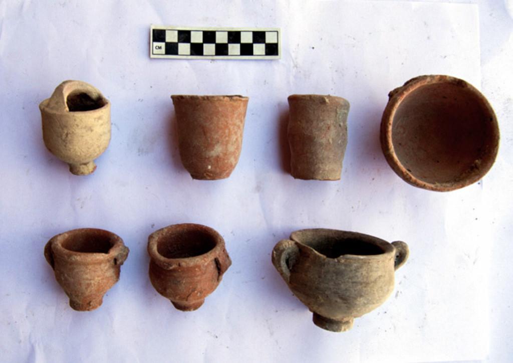 第2次大戦中に「隠された」古代遺物、博物館の中庭で発見 エジプト