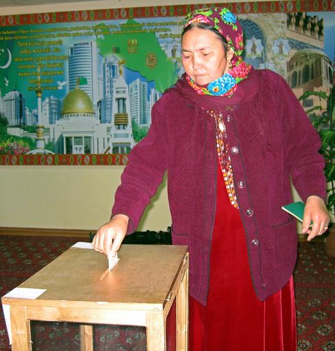 投票率98%、史上初の複数候補による大統領選 - トルクメニスタン