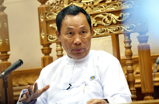 ミャンマー与党党首を解任、テイン・セイン大統領が介入 党内で対立