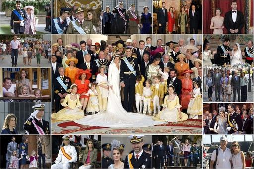 新国王即位間近、写真で見るスペイン王室