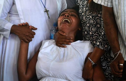 スリランカ連続爆発、「死者のうち45人が子ども」 ユニセフ発表