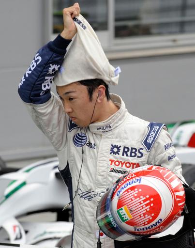 中嶋一貴 母国GPは15位に終わる