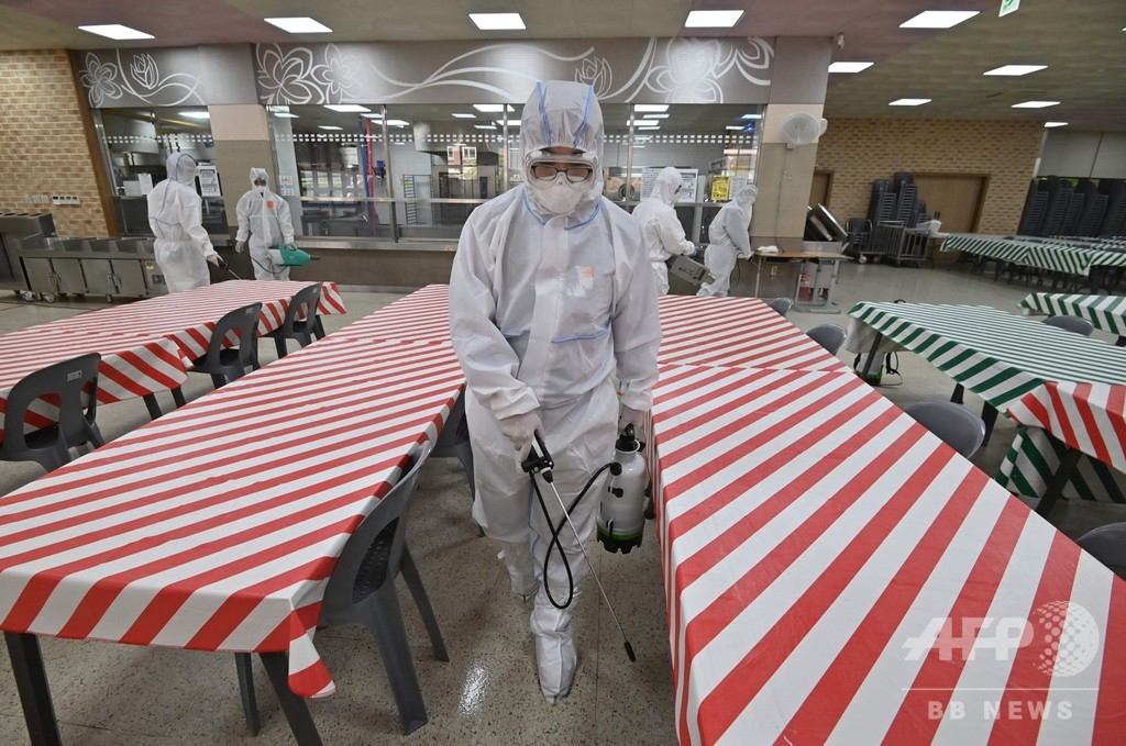 韓国、学校再開を延期 コロナ新規感染、1か月ぶりの多さに