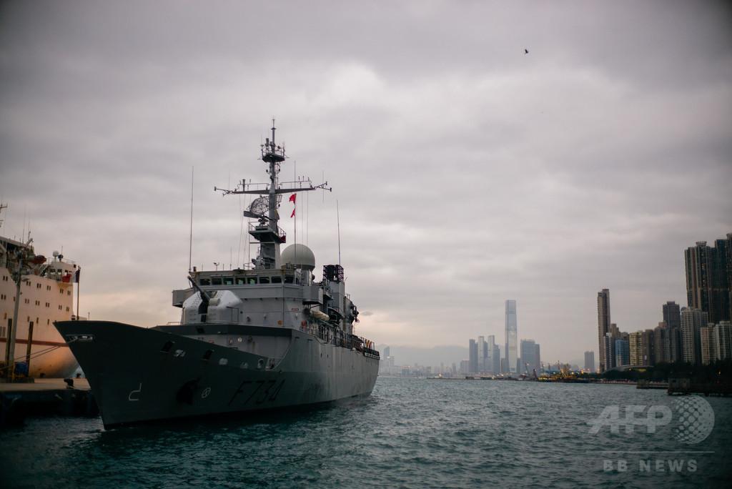 南シナ海でフランスが軍事プレゼンス強化、中国に対抗