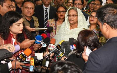 バングラデシュ総選挙、与党が圧勝 野党は再選挙要求