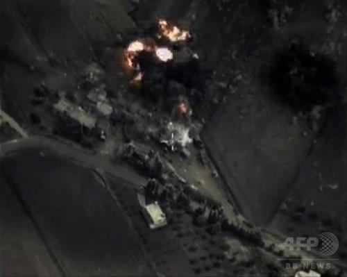 ロシアがシリア空爆開始、「IS標的」を米が否定 民間人犠牲か