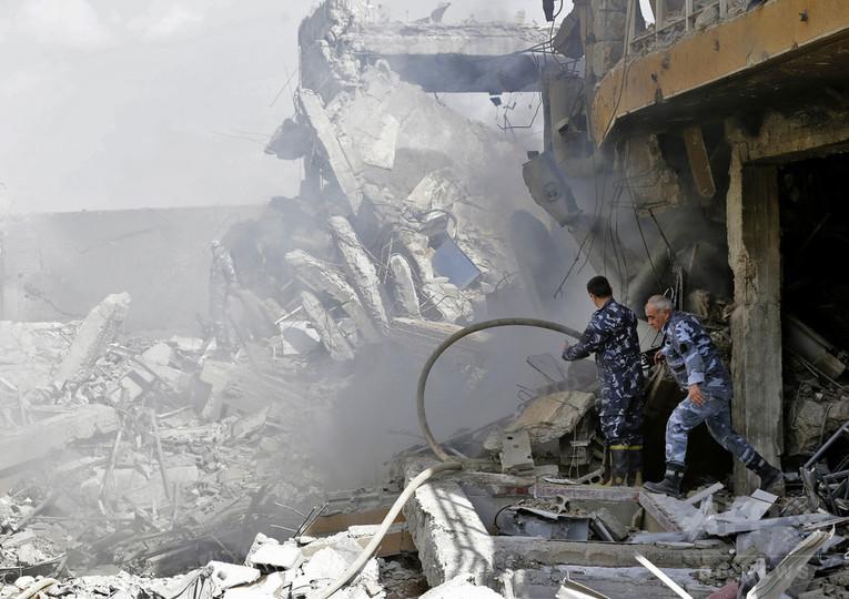 シリア化学兵器疑惑、OPCWが調査開始 政府高官と会談