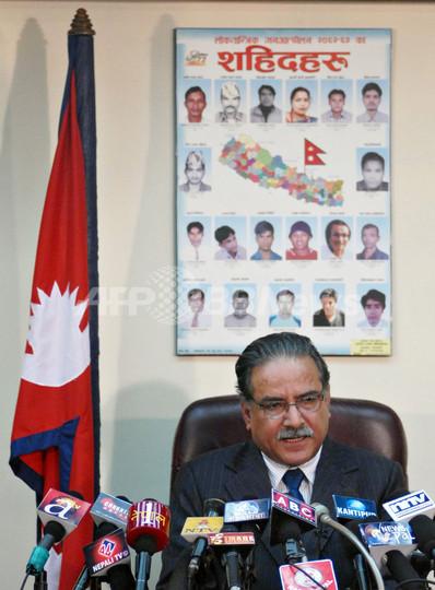 ネパール毛派首相が辞任、参謀長解任めぐり政権崩壊