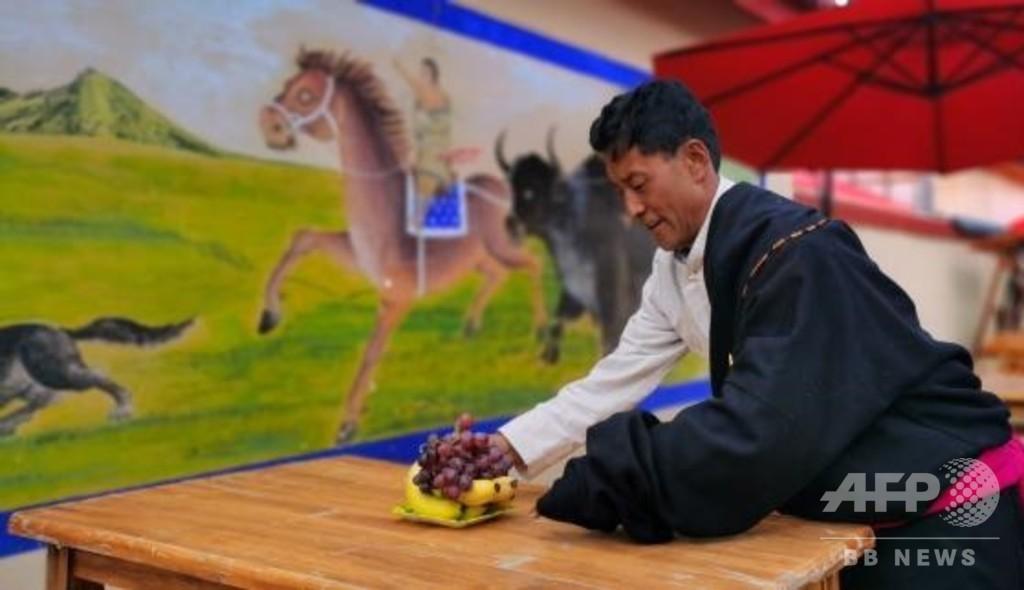 遊牧から定住生活に変わり潤う暮らし 甘粛・チベット族自治州