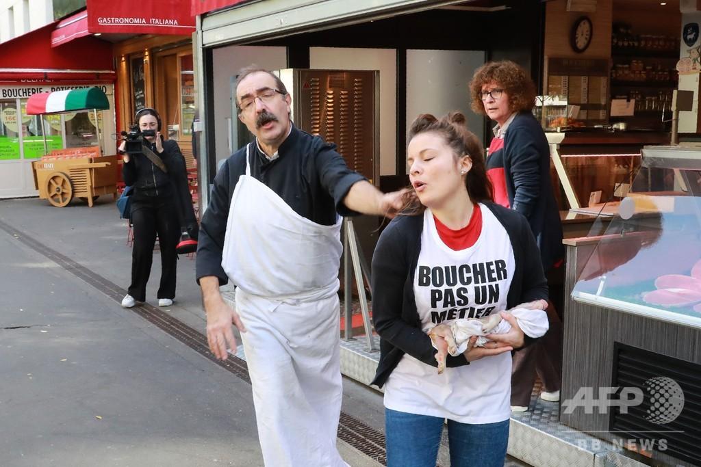 「刑務所に入る覚悟」 菜食主義者による襲撃相次ぐ フランス