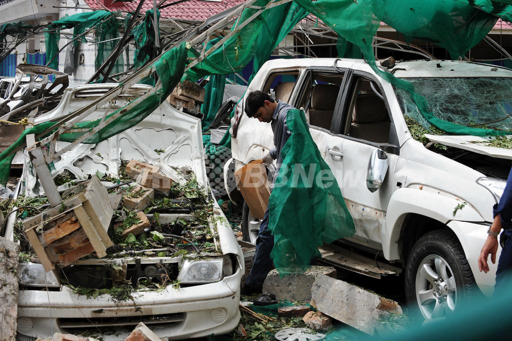 デンマーク大使館での自爆攻撃、タリバン犯行の可能性 パキスタン