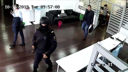 動画:ロシア当局、各地の野党事務所30か所を一斉捜査 野党勢力が発表