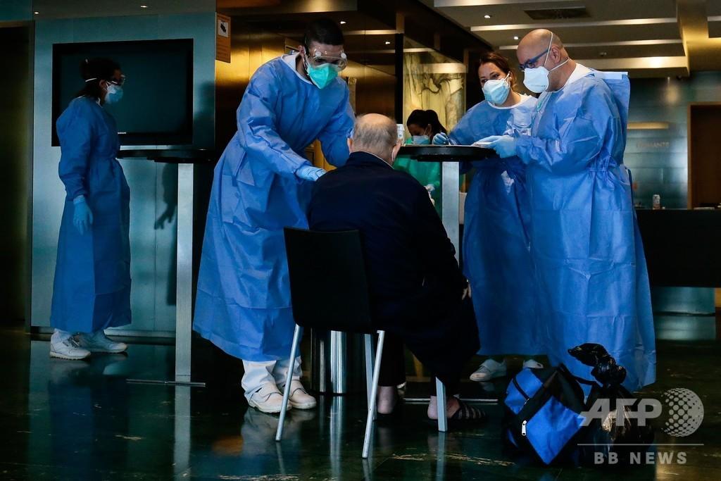 世界のコロナ感染者、100万人突破 AFP集計