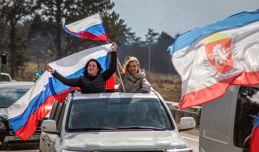 ロシアのクリミア併合から5年、冷めてきた国民の熱狂