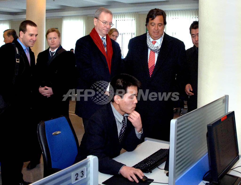北朝鮮訪問したグーグル会長の娘、「すごく変だった」