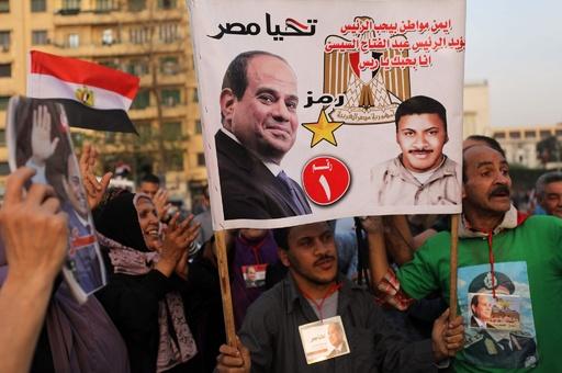 シシ大統領、97%の得票で再選 投票率は低下 エジプト
