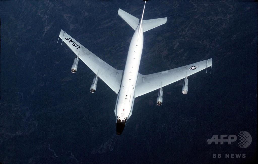 中国軍戦闘機、米軍偵察機に危険な異常接近