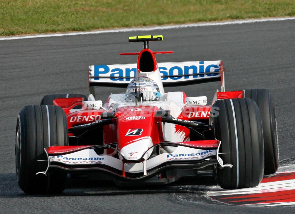 トゥルーリ 日本GP・フリー走行2回目で4番手タイムを記録