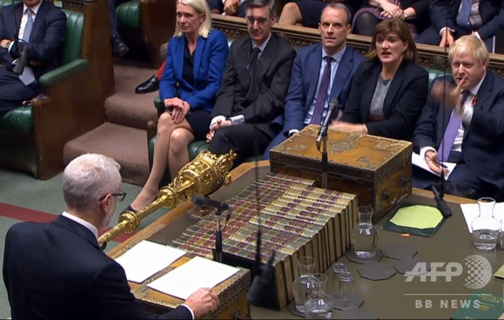 英最大野党の労働党、12月の総選挙実施に同意