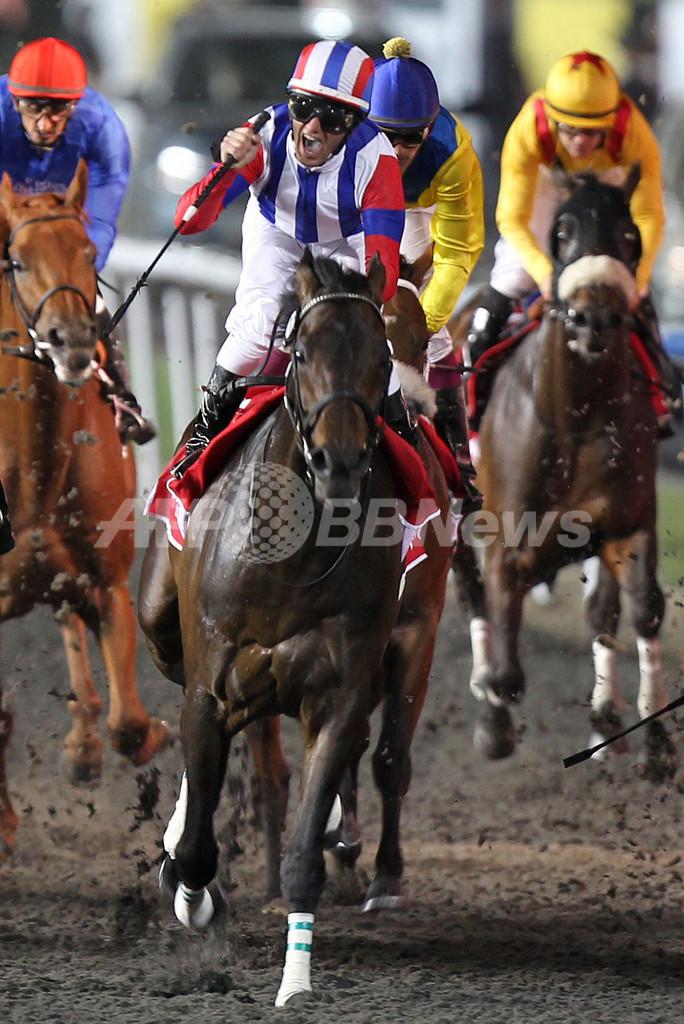 ヴィクトワールピサ、日本馬として初優勝 ドバイWC