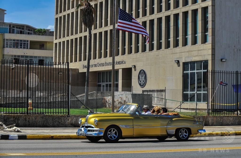 米、在キューバ大使館の人員縮小を恒久化 「音響攻撃」疑惑