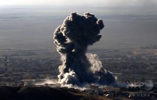 ISの現金保管庫を空爆、「数億円」相当を破壊 米当局者