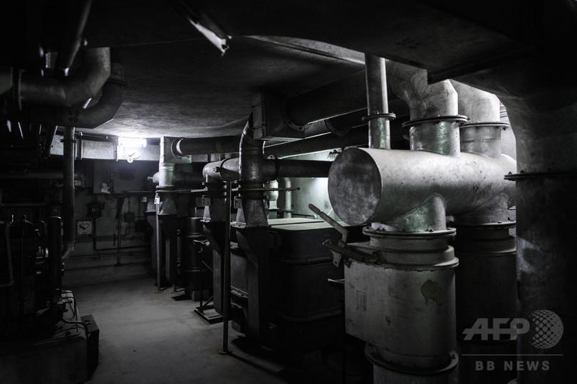 パリの駅地下の「眠り姫」、大戦当時のまま残された地下壕