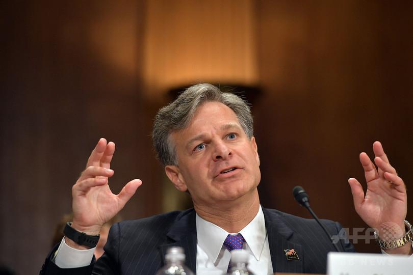 米FBI新長官にクリストファー・レイ氏 上院本会議で承認