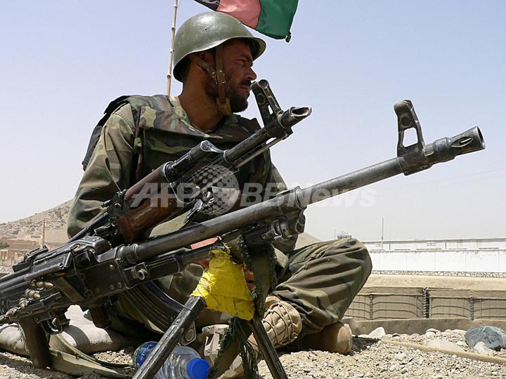 NATO・アフガン合同軍、タリバン掃討作戦を開始 アフガニスタン