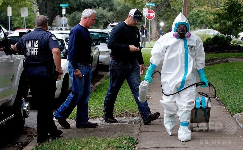 米国内で初のエボラ感染確認 テキサス州の看護師、手順違反か
