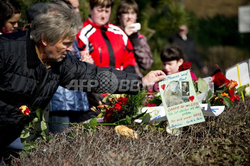 クヌートの検視始まる、死を惜しむファンの声やまず ベルリン