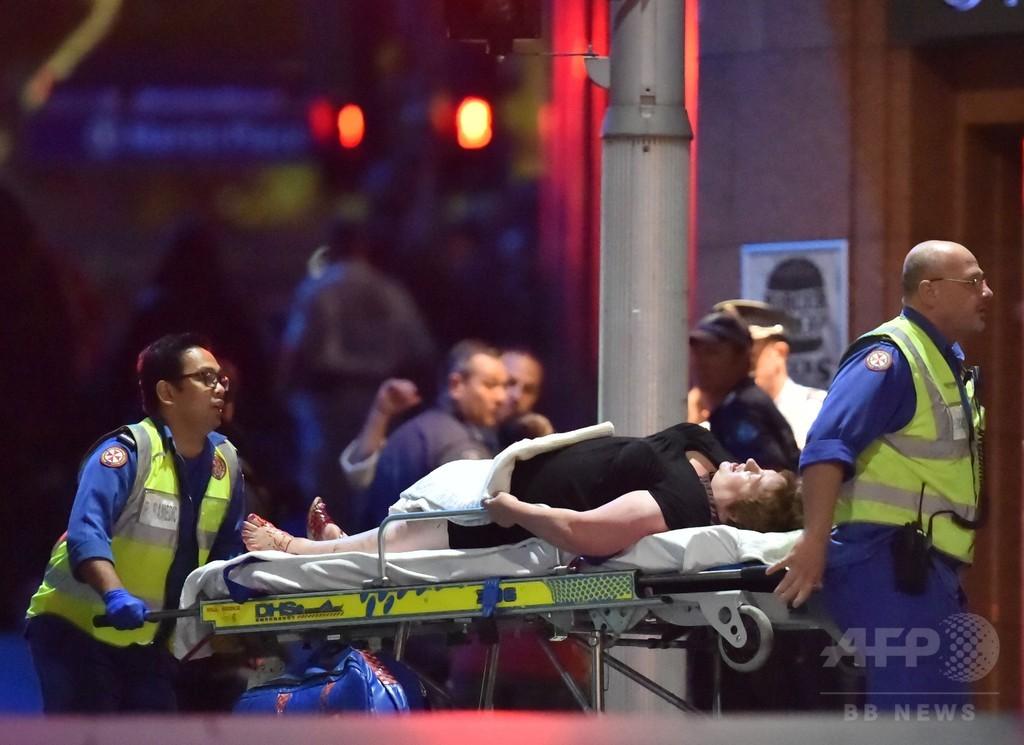 シドニー立てこもり、警察が突入 人質2人死亡、犯人射殺