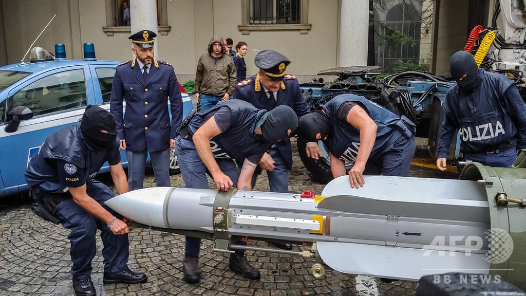 伊警察が押収したミサイル、カタールが94年に第三国に売却