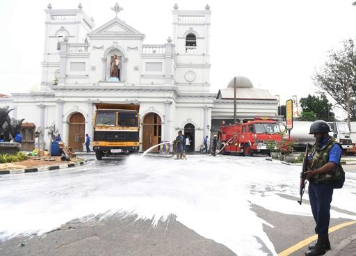スリランカのカトリック教会、礼拝再開を延期 新たな攻撃の情報受け