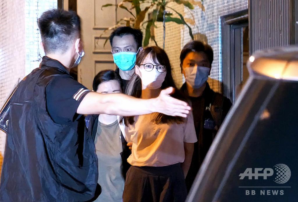 逮捕の周庭氏、中国が沈黙させたい民主派の若手活動家