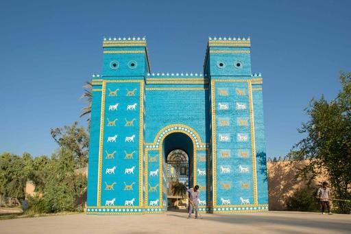 イラクの古代遺跡バビロンが世界遺産に、ユネスコ