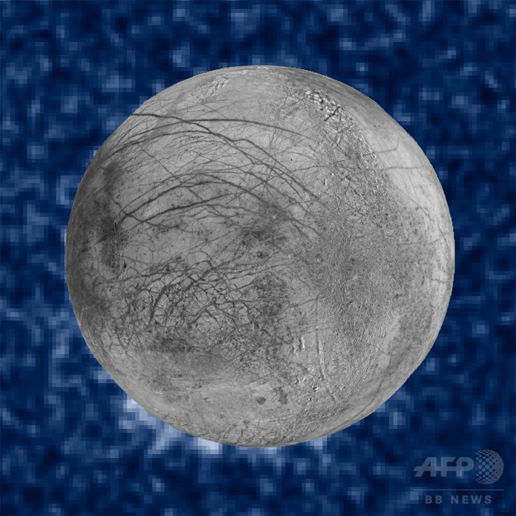 木星の衛星「エウロパ」から水蒸気噴出か、新たな証拠