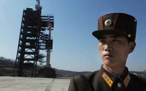 北朝鮮、打ち上げ施設を外国メディアに公開