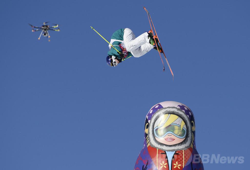 ソチ五輪の撮影に「空からの視点」、無人機カメラ史上初導入