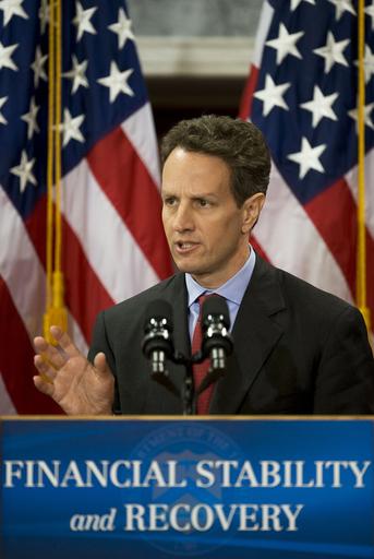 米、新たな金融安定化策発表 官民共同で不良資産買い取りへ